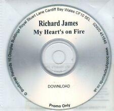 (BQ562) Richard James, My Heart's On Fire - 2006 DJ CD
