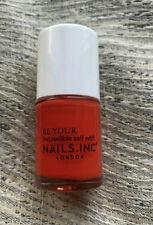 NAILS INC Nail Polish Varnish - Portland Square (Red/Orange) - 10ml - NEW
