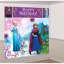 "65"" Disney Frozen Elsa Anna Scene Setter Add on Birthday Party Decoration"