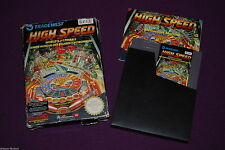 HIGH SPEED - Rare/Tradewest - Jeu Flipper NES FAH FRA