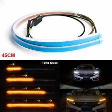 45cm Auto Car Trunk Strip Light Tailgate Brake Drive Turn Signal Flow LED