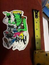 """4""""×5"""" Frankenstein 13 f.t.w STICKER Decal Poster Artist Coop Posterpop DFFD"""