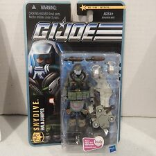 GI JOE ~ 2010 JUNGLE ASSAULT SKYDIVE ~ HALO JUMPER  ~ POC  ~ MOC