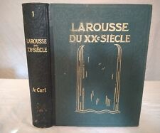 LAROUSSE DU XXeme SIECLE. 6 VOLUMES. PAUL AUGE.