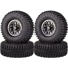 "RC 1.9"" TIRES & Beadlock Wheel 1065-7036 For Traxxas 82046-4 TRX-4 Ford Bronco"