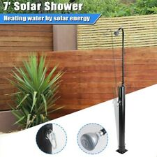 New listing 2.3 Gallon Pools Solar Heated Shower Head Yard Camping Swimming Poolside Spa 7ft