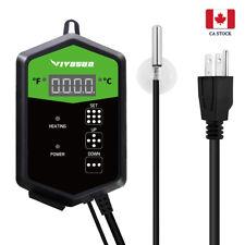 VIVOSUN Digital Heat Mat Thermostat Temperature Controller for Seedling 68-108°F