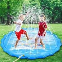 Faburo 170cm Sprinkle and Splash Water Play Mat Set Summer Spray Water Toys -