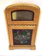 "Musical  61/2 "" Tall Wurlitzer ™ Juke Box - "" Que Sera Sera "" # 107."
