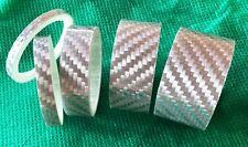 """Ahead Vorbau Spacer Distanzscheiben Set 1 1/8"""" 3/5/10/15/20 mm Karbon Silber neu"""
