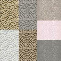 Fine Decor Animal & Fur Glitter Print Metallic Wallpaper 4 Colours