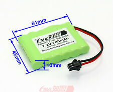 Ni-MH Rechargeable Battery 7.2V 700mAh For Model Plane Toys Racing Car 3A6SB