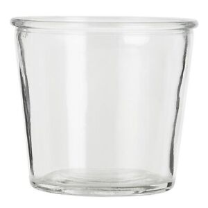 Clear Glass Flower Pot Hannah Perfect for Rope Plant Holder Small by Ib Laursen