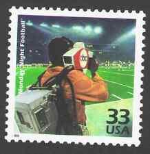 "US. 3189 l. 33c. ""Monday Night Football"". Celebrate The Century. MNH. 1999"