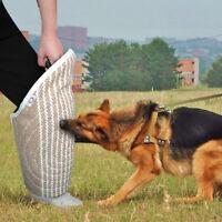 Dog Training Bite Leg Sleeve Jute Leg Protection for Helper K9 SCHUTZHUND