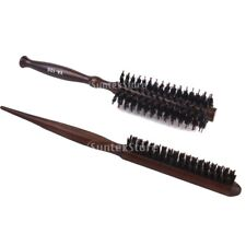 2PCs Pro Boar Bristle Curly Hair & Teasing Brush Comb Hairdressing Styling Tool