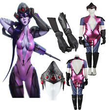 Hot Game Widowmaker Cosplay Costume Sexy Clothing Full Suit Cos Accessories
