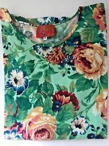 KENZO Shirt T-Shirt JUNGLE Gr. M 38/40  bunt Blüten Baumwolle - TOP Zustand !!