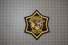 Springdale Arkansas Police Patch (B17-F)