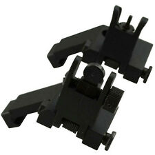 Al Front and Rear Flip Up 45 Degree Offset Rapid Transition Backup Iron Sight