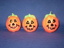 Kürbiskerze - 3 Stück/Paket - Halloweenkerze - Herbstkerze - Formkerze