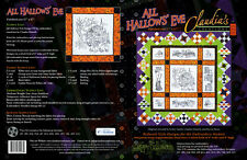 All Hallows Eve - Halloween Machine Embroidery Designs - Claudia's Creations NEW