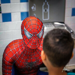 Spider-Man 3 Movie Replica Suit Costume Cosplay MOVIE GRADE
