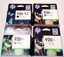 5 Original HP 920XL 920 Black Ink Cartridges for OfficeJet 6000 6500 6500A 7500