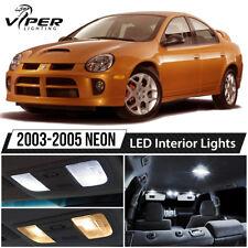 2003-2005 Dodge Neon SRT4 White LED Interior Lights Package Kit