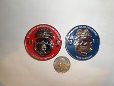CHALLENGE COIN 227TH MILITARY POLICE DETACHMENT WORKING DOG K9 FT DRUM NEW YORK