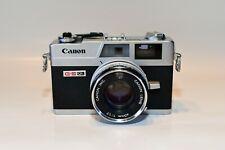 Canon Canonet Ql17 Giii 35mm Rangefinder Camera Beautiful Condition