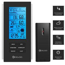 Wireless Wetterstation Barometer Wettervorhersage Thermometer USB Outdoor Sensor