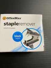 New listing OfficeMax Standard Staple Remover Black