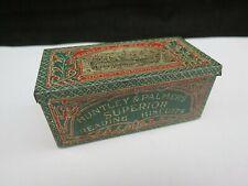Rare Miniature Antique Huntley & Palmers Biscuit Tin Paris Exhibitions 1878 1900