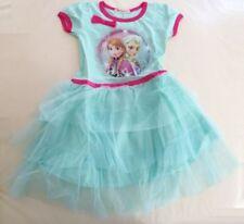 Princess Anna Cotton Frozen Dresses for Girls