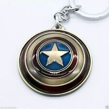 Keychain / Porte-clés - Marvel Stereoscopic 3D Captain America Shield - BRONZE