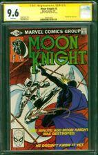 Moon Knight 9 CGC SS 9.6 Frank Miller Auto Cover 7/1981 vs Midnight Man