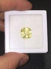 Natural Unheated Yellow Sapphire 10.57 Carats Big Loose Gemstone Sri Lanka Rare