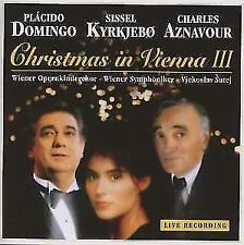 Christmas in Vienna III [Live] von Placido Domingo,Kyrkjebo,Sissel,Charles Aznavour (2012)