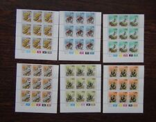 South West Africa 1978 Universal Suffrage in control block x 9 (3 sets) MNH