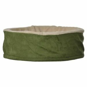 """LM Petmate Cuddle Cup Cat Bed  17"""" Diameter x 6"""" Tall"""