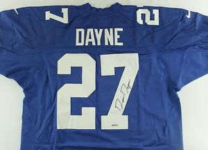 Ron Dayne Signed New York Giants Jersey (UDA COA) Running Back / U of Wisconsin