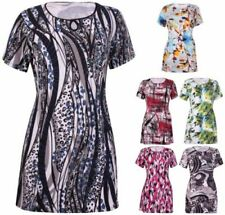 Viscose Short Sleeve Stretch Tops for Women