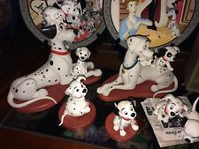 WDCC 101 Dalmatians Set Of 8 Figures In One Lot