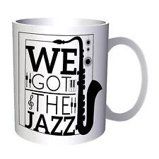 We Got Jazz Art Saxophone 11oz Mug u460
