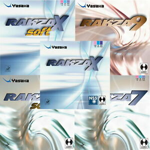 Yasaka Rakza Z / X / 9 / 7 / Soft /Tischtennisbelag / NEU / zum Sonderpreis