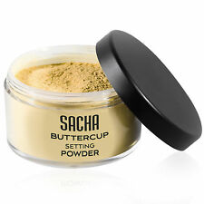 Sacha Buttercup Setting Powder - Flash-friendly loose face powder. 1.25 oz