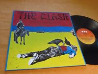 THE CLASH Give `em enough Rope      Dutch CBS 1978  Vinyl/Cover: mint(-) TOPCOPY