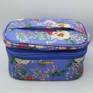 """Yumi Kim Floral Travel Case Makeup Bag Tote 10"""" Wide 5"""" Tall NEW"""