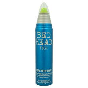 TIGI BED HEAD MASTERPIECE MASSIVE SHINE HAIRSPRAY 9.5 OZ FIRM STRONG HOLD SPRAY
